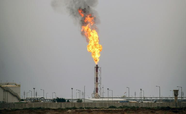 Iraq is the oil cartel OPEC's second-biggest producer and depends on oil for more than 90 percent of its revenues (AFP/HAIDAR MOHAMMED ALI)