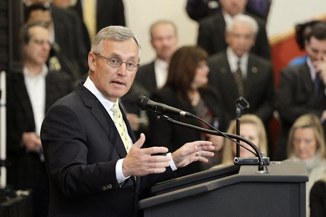 Jim Tressel says he does not plan to return to coaching