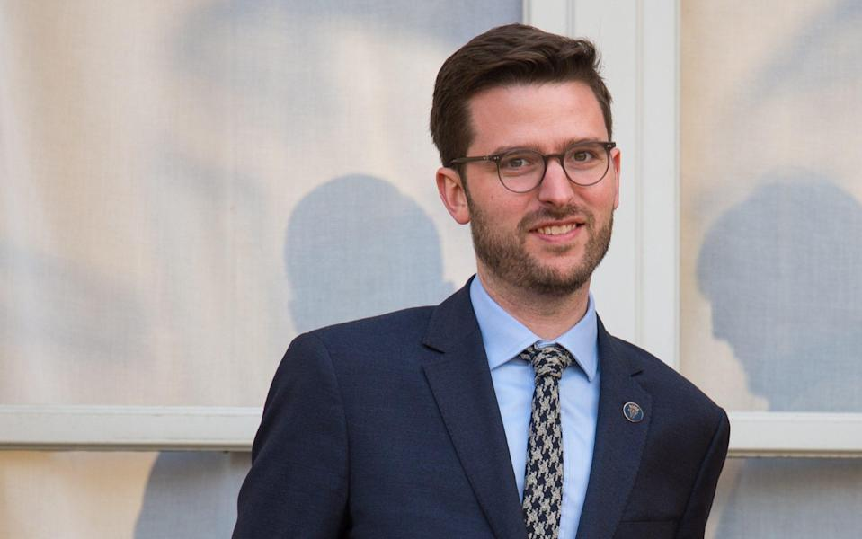 Jason Knauf was the communications secretary to both the Sussexes and the Cambridges, and is now chief executive of the Royal Foundation - Dominic Lipinski/PA