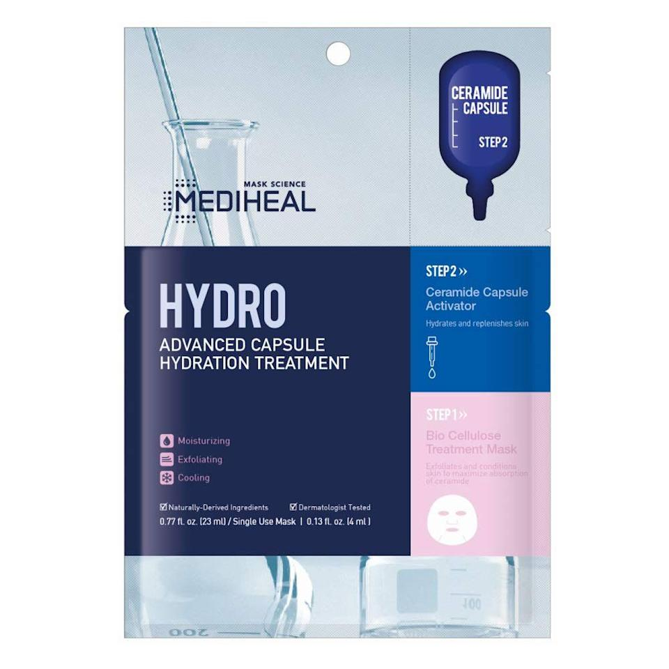 "<p>Dubber ""Korea's Number 1 Sheet Mask,"" the MEDIHEAL N.M.F Intensive Hydrating Mask is what it sounds like — a giant dose of moisture for your face. Snag a pack of five for just under $10 and find out why <a href=""https://www.amazon.com/gp/customer-reviews/R1PVCA9EBT1P14/ref=cm_cr_arp_d_rvw_ttl?ie=UTF8&ASIN=B07T74SKPQ"" target=""_blank"">one reviewer</a> said the cotton mask (packed with humectants, minerals, and amino acids) made her skin look immediately different.</p> <p><a href=""https://www.instyle.com/beauty/skin/create-your-own-korean-skincare-routine"" target=""_blank""><strong>RELATED: The 9-Step Korean Skincare Routine That Will Keep Your Skin Healthy All Winter</strong></a></p>"