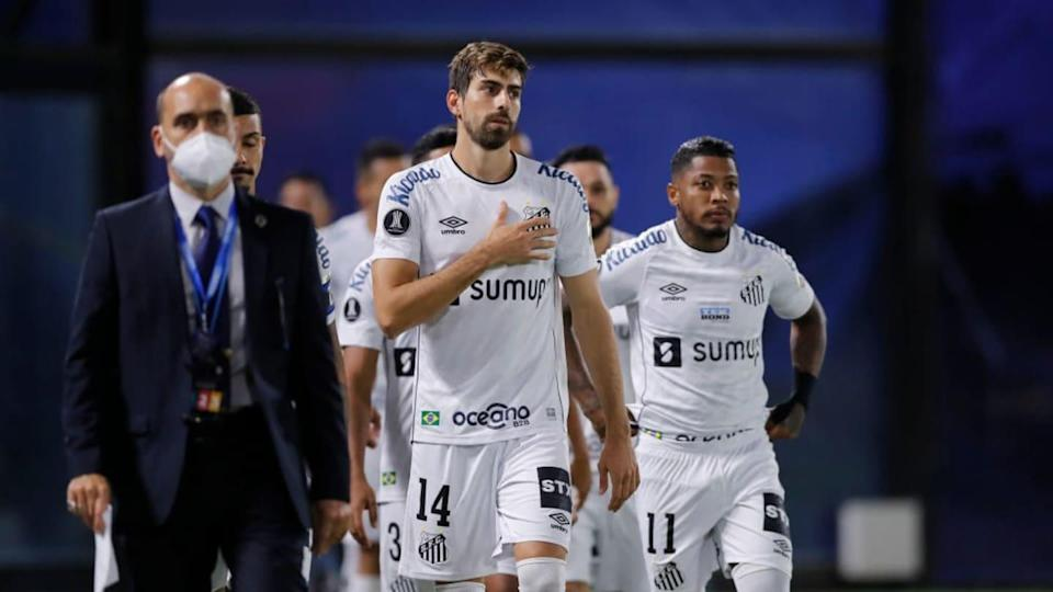 Santos foi derrotado pelo Boca Juniors na Libertadores. | Pool/Getty Images