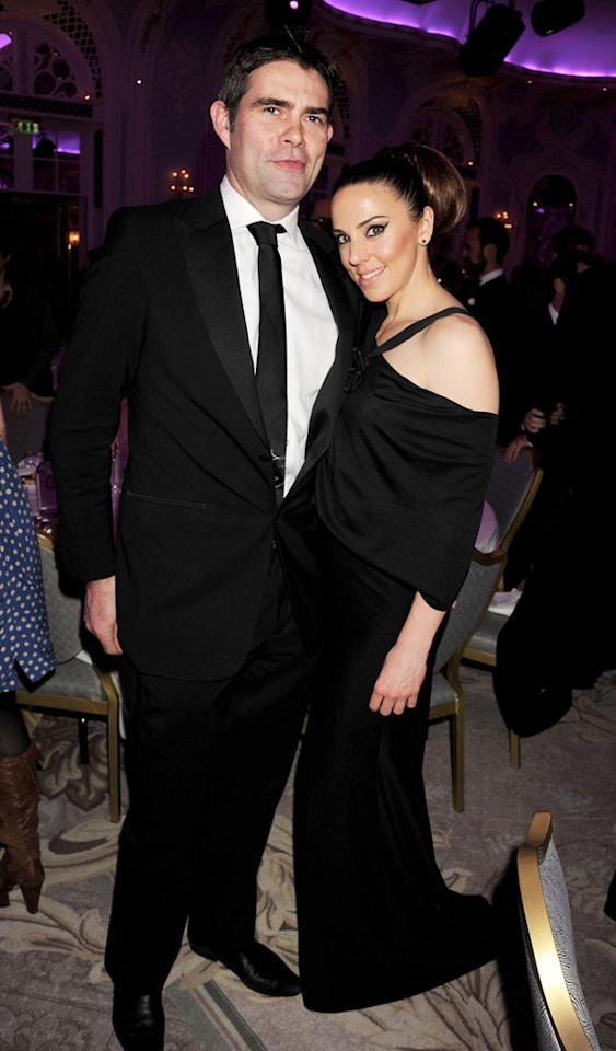 LONDON - NOVEMBER 28:  EMBARGOED FOR PUBLICATION IN UK TABLOID NEWSPAPERS UNTIL 48 HOURS AFTER CREATE DATE AND TIME. MANDATORY CREDIT PHOTO BY DAVE M. BENETT/GETTY IMAGES REQUIRED Thomas Starr and Melanie Chisholm attends the London Evening Standard Theatre Awards ceremony at The Savoy Hotel on November 28, 2010 in London, England. (Photo by Dave M. Benett/Getty Images) *** Local Caption *** Thomas Starr;Melanie Chisholm