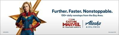Alaska Airlines and Marvel Studios team up to release special edition plane