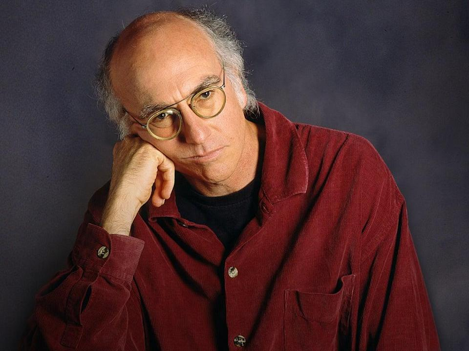 The 'Curb Your Enthusiasm' star reportedly 'screamed' at Dershowitz over his friendly relationship with Pompeo (HBO)