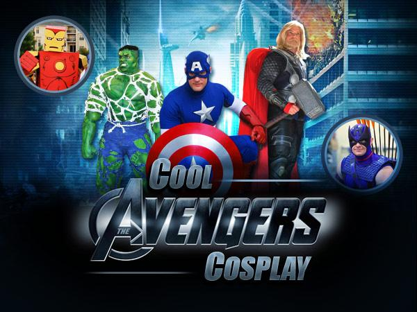 """The Avengers"" blasts into theaters on May 4, but the all-star squad has been hitting comic book convention floors for ages now. From Iron Man's suit to Thor's mighty hammer, fans have found fascinating ways to recreate their super-powered idols. Fake Avengers, assemble!"
