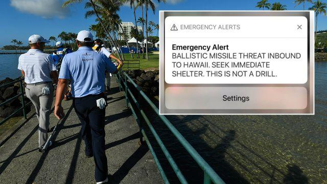 The warning caused a massive scare. Image: Getty/Twitter