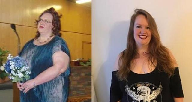 Mary Gould lost 245 pounds.