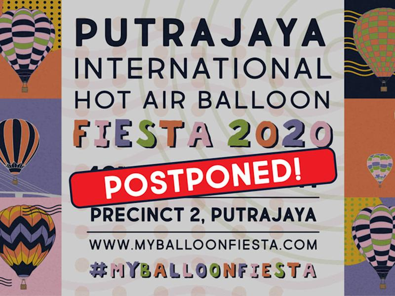 MyBalloonFiesta 2020 was supposed to kick off this 19 March