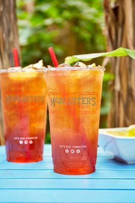 All fans who visit any of McAlister's Deli restaurants will receive a free 32 oz. cup of their Famous Sweet Tea, no purchase necessary.