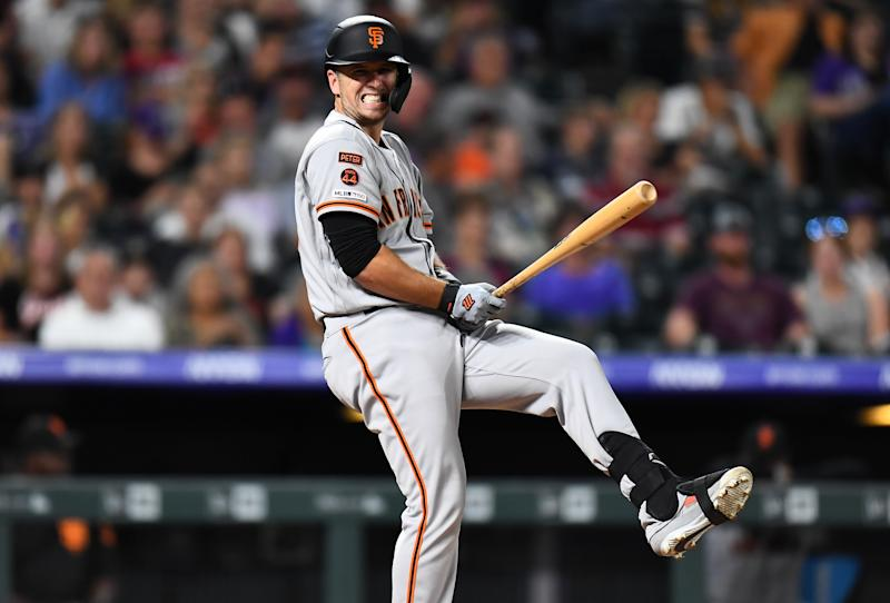San Francisco Giants catcher Buster Posey