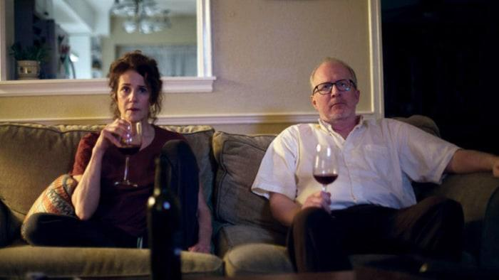 Debra Winger and Tracy Letts in 'The Lovers' (A24)