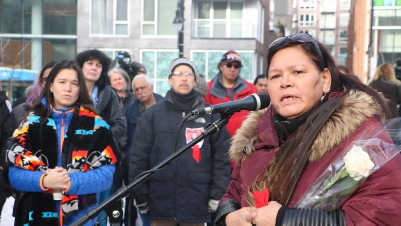 'Our sisters are still not protected': Montrealers call for justice for Tina Fontaine