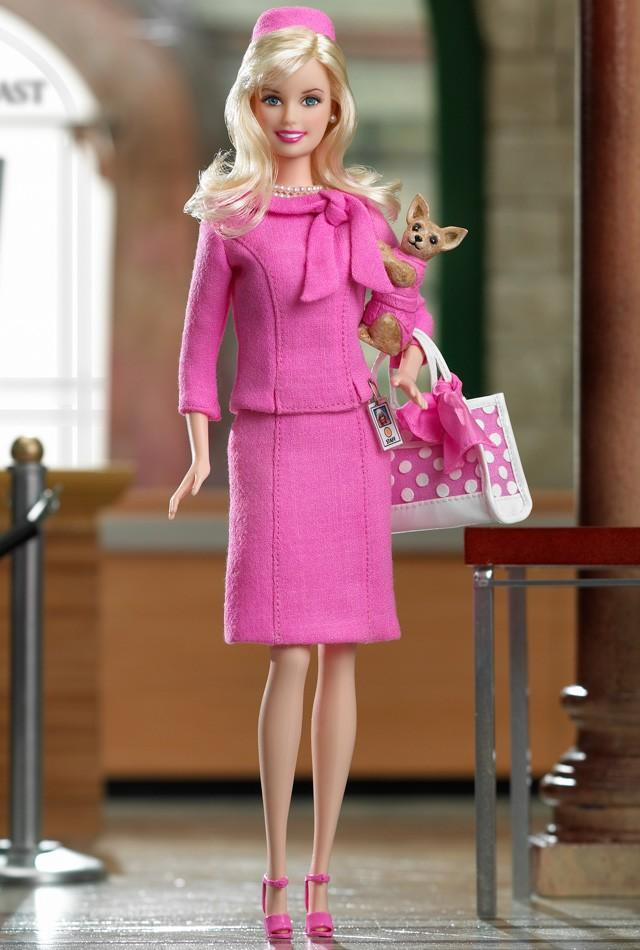 "<div class=""caption-credit""> Photo by: barbiecollector.com</div><b>Elle Woods from ""Legally Blonde 2: Red, White & Blonde,"" released in 2003 for $19.99</b> <br> Elle is already Barbie personified, so this doll is freakishly meta."