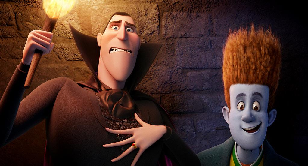 """ Hotel Transylvania "" Release date: September 28 Starring: Adam Sandler and Andy Samberg"