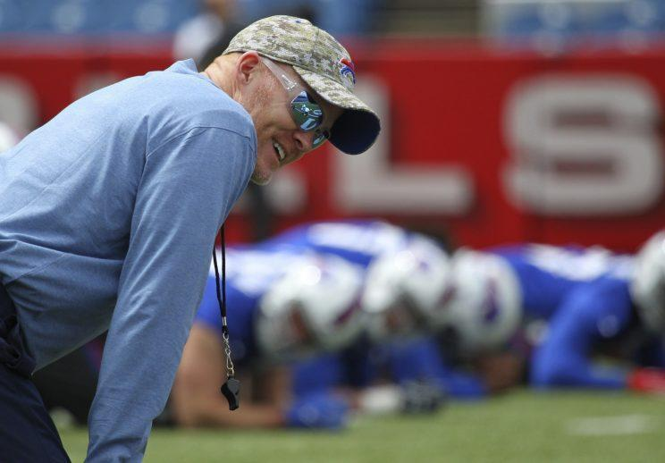 Sean McDermott was hired to be the Bills' next coach. (AP)