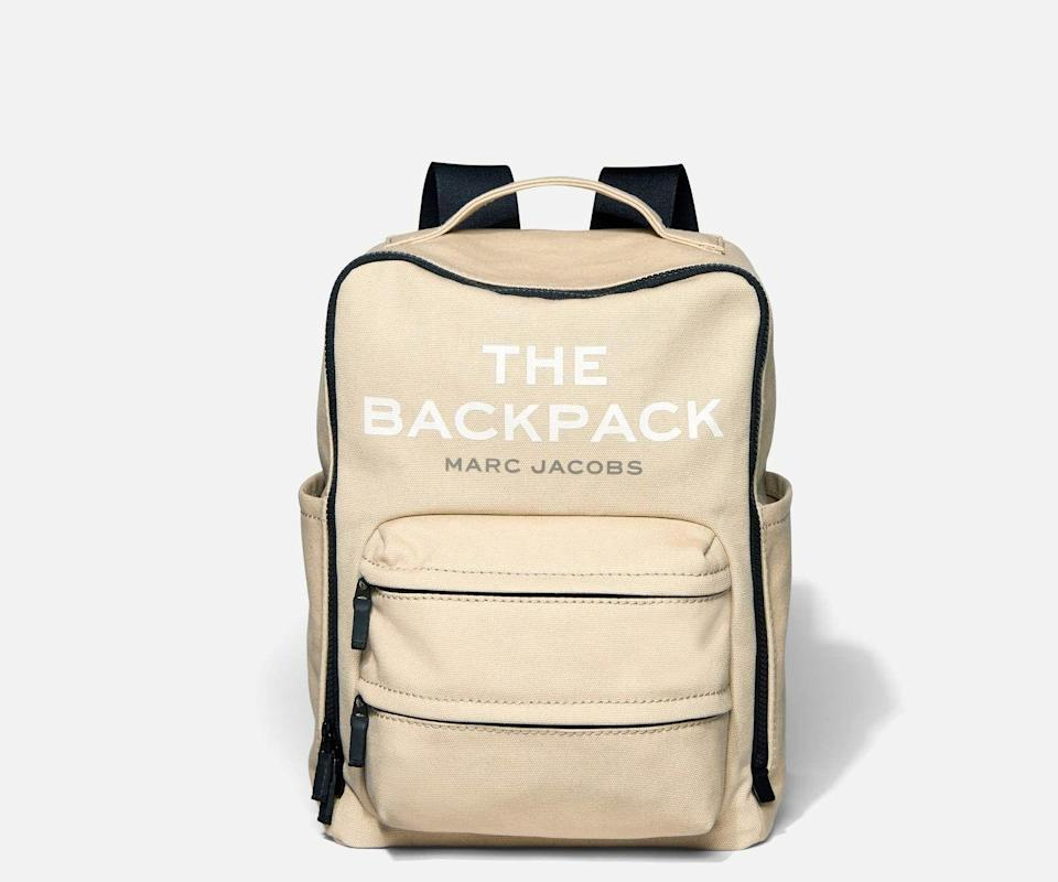 """<p><strong>Marc Jacobs</strong></p><p><strong>$225.00</strong></p><p><a href=""""https://go.redirectingat.com?id=74968X1596630&url=https%3A%2F%2Fwww.marcjacobs.com%2Fdefault%2Fthe-backpack%2F191267912455.html&sref=https%3A%2F%2Fwww.cosmopolitan.com%2Fstyle-beauty%2Ffashion%2Fg29194509%2Fgifts-for-college-students%2F"""" rel=""""nofollow noopener"""" target=""""_blank"""" data-ylk=""""slk:Shop Now"""" class=""""link rapid-noclick-resp"""">Shop Now</a></p><p>A chic backpack that can hold their laptop and books will definitely come in handy when they're making trips to The Library.</p>"""