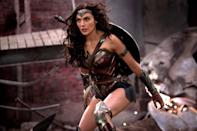 <p>Wonder Woman is the most famous superhero yet to star in their own big screen adventure and after debuting as one of the few positives in 'Batman v Superman: Dawn of Justice', Gal Gadot is ready give us the Wonder Woman film fans have craved for decades. She stars alongside Chris Pine and Robin Wright. (Credit: Warner Bros) </p>