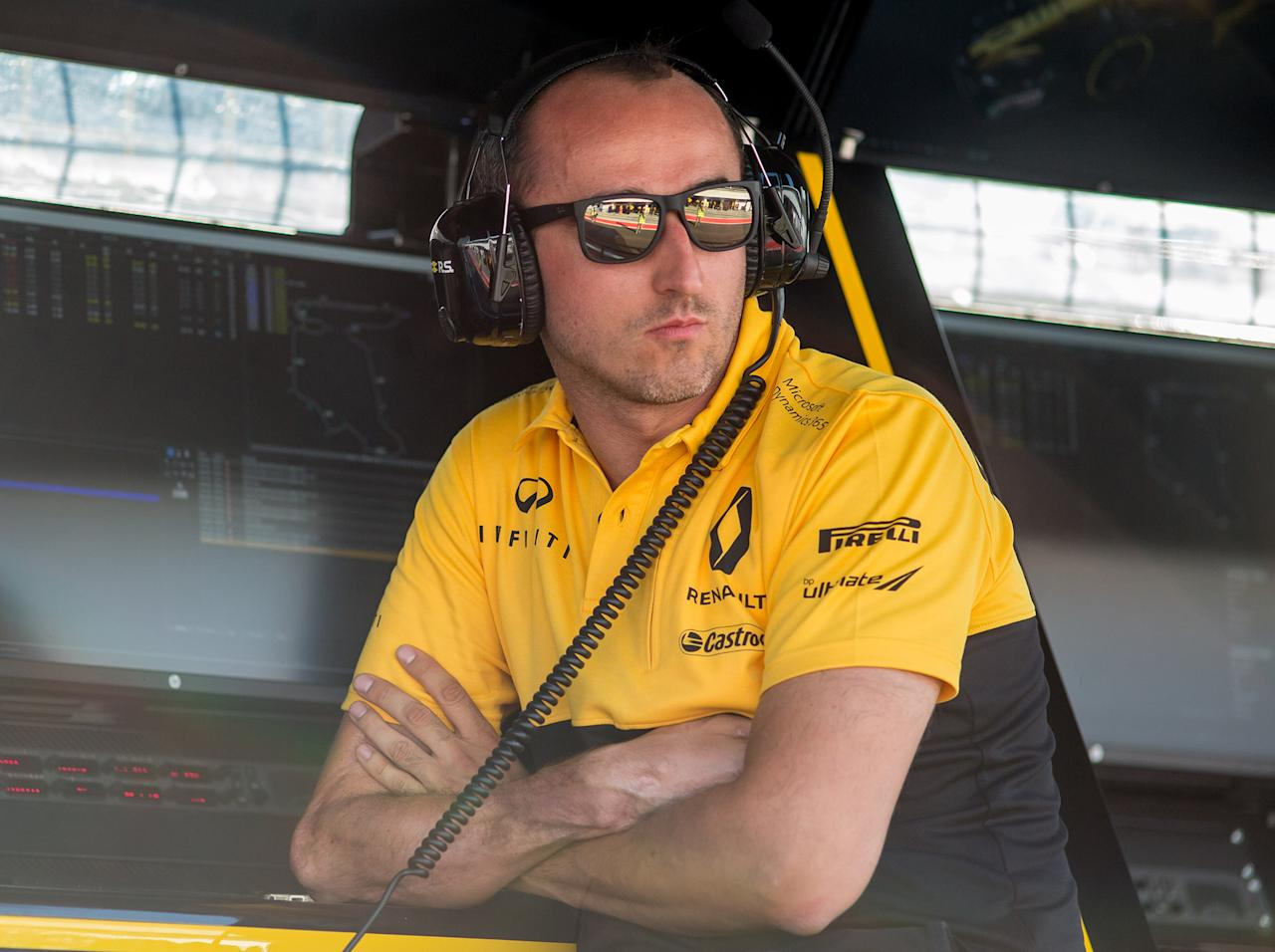 Robert Kubica misses out on F1 comeback after Williams announce Sergey Sirotkin as new driver