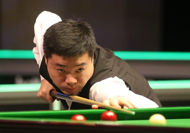 Ding Junhui will meet seven-time UK champion Ronnie O'Sullivan in the last 16 (Nigel French/PA)