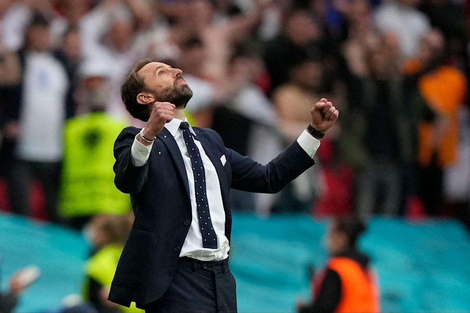 Gareth Southgate found redemption following his famous penalty miss at Euro 96 (POOL/AFP via Getty Images)