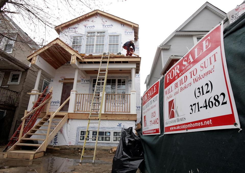 After three blockbuster years for home prices, Goldman Sachs sees home price appreciation slowing down in the years ahead. REUTERS/John Gress/File Photo