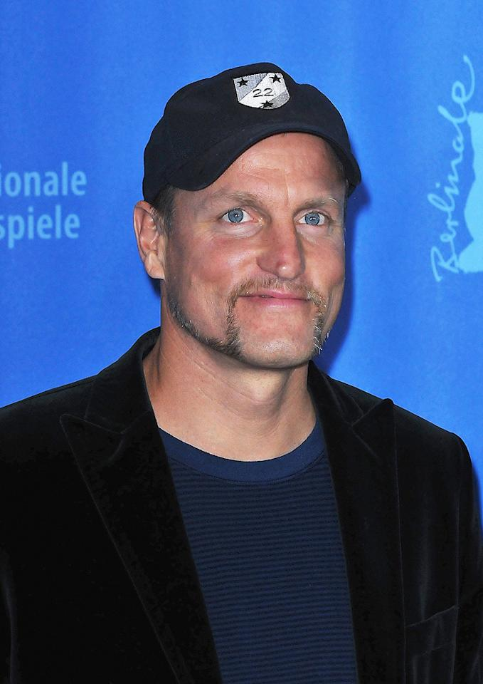 """<a href=""""http://movies.yahoo.com/movie/contributor/1800018911"""">Woody Harrelson</a> at the 59th Annual Berlin International Film Festival photocall for """"The Messenger"""" - 02/09/2009"""