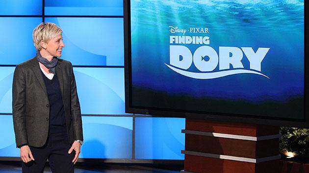 DeGeneres announces 'Finding Dory' on Tuesday