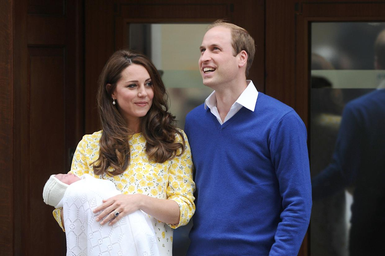 Kate Middleton gave birth to Princess Charlotte in 2015, just a day after Keira Knightley gave birth to a daughter she named Edie. (Photo: Paul Treadway/Barcroft Media via Getty Images)