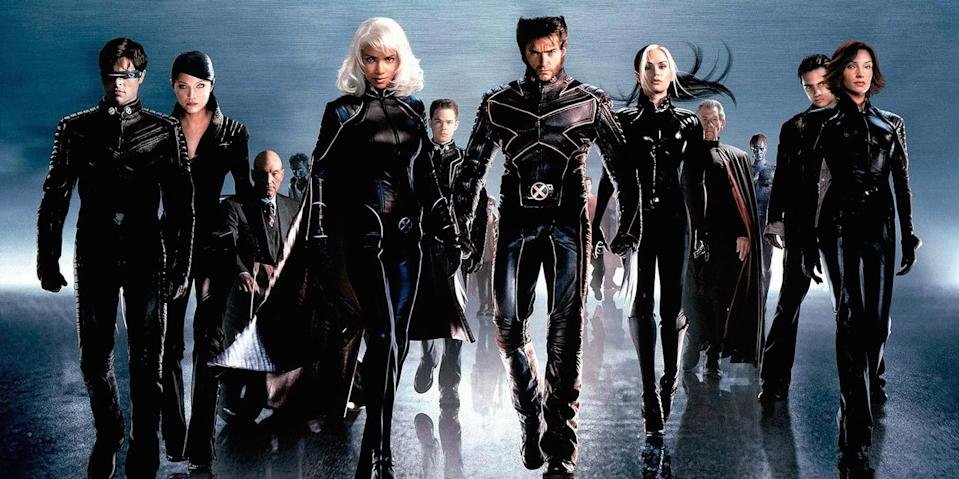 The cast of 2000's <em>X-Men</em>. (Fox)