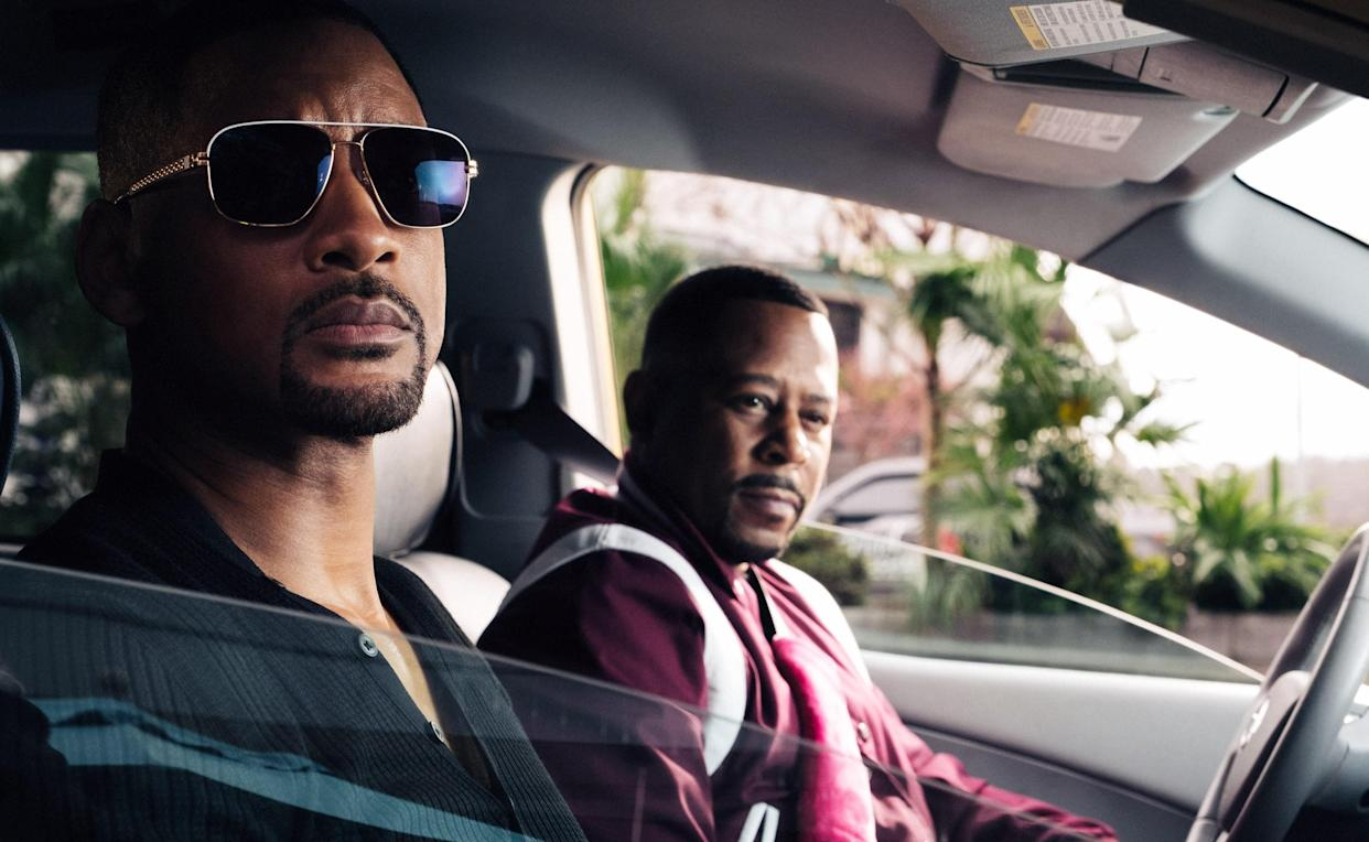 Smith and Martin Lawrence reprise their roles as Florida super-cops in Bad Boys for Life (Photo: Ben Rothstein / © Columbia Pictures / courtesy Everett Collection)
