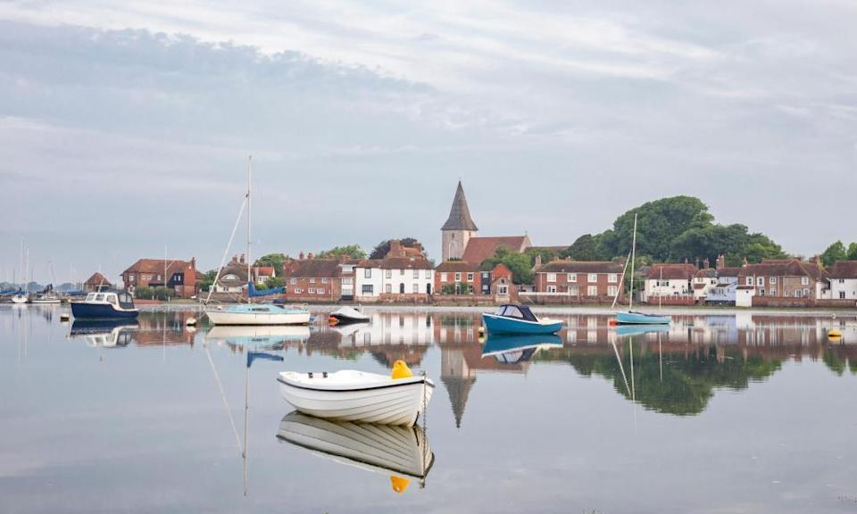 Pretty as a picture: Chichester, Sussex.