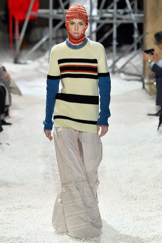 <p>The Calvin Klein look inspired by the film <em>Safe.</em> (Photo: Getty Images<br />) </p>