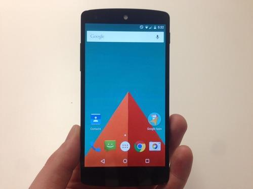 Phone with Android Lollipop