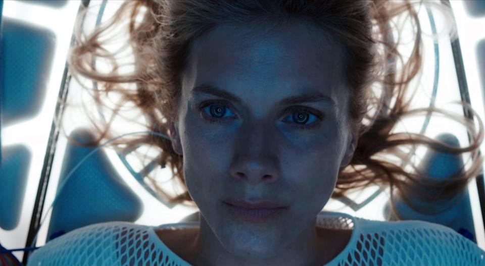 """<p>A woman wakes up in a cryogenic unit with no knowledge of where or who she is. Her time is limited to figure it all out before her oxygen runs out. </p> <p><a href=""""https://www.netflix.com/title/81277610?source=35"""" class=""""link rapid-noclick-resp"""" rel=""""nofollow noopener"""" target=""""_blank"""" data-ylk=""""slk:Watch Oxygen on Netflix now."""">Watch <strong>Oxygen</strong> on Netflix now.</a></p>"""