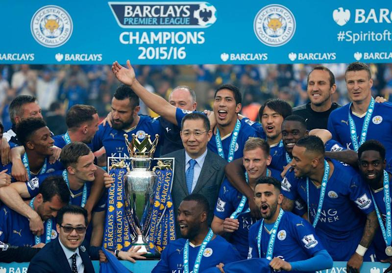 Leicester famously won the league in 2016 (AFP/Getty Images)