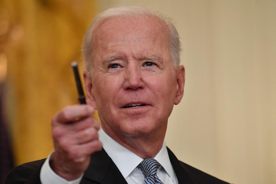 <p>Joe Biden's administration has shocked environmentalists by defending an oil drilling project in Alaska approved by Donald Trump</p> (AFP/Getty)