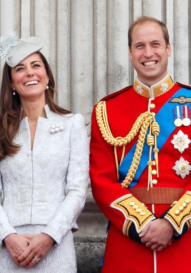 Prince William and Kate Middleton (pictured) married in 2011 but William never wears a wedding ring. Photo: Getty
