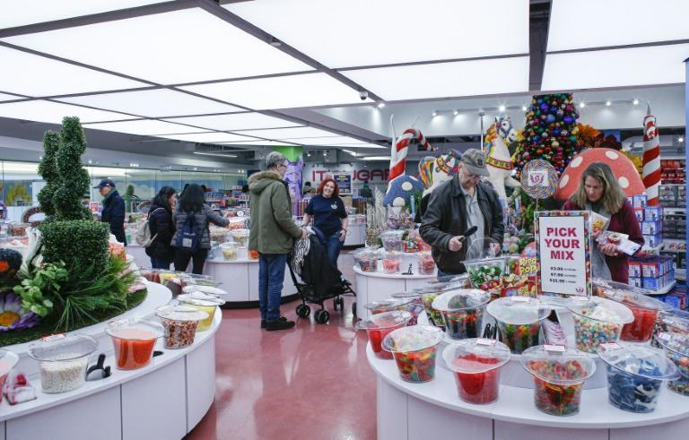 Sweets shop IT'SUGAR opened what it calls a candy department store at the American Dream mall in New Jersey (AFP Photo/Kena Betancur)