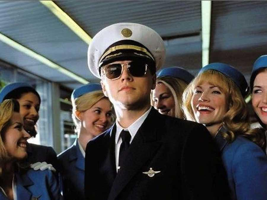 catch me if you can leonardo decaprio conman liar