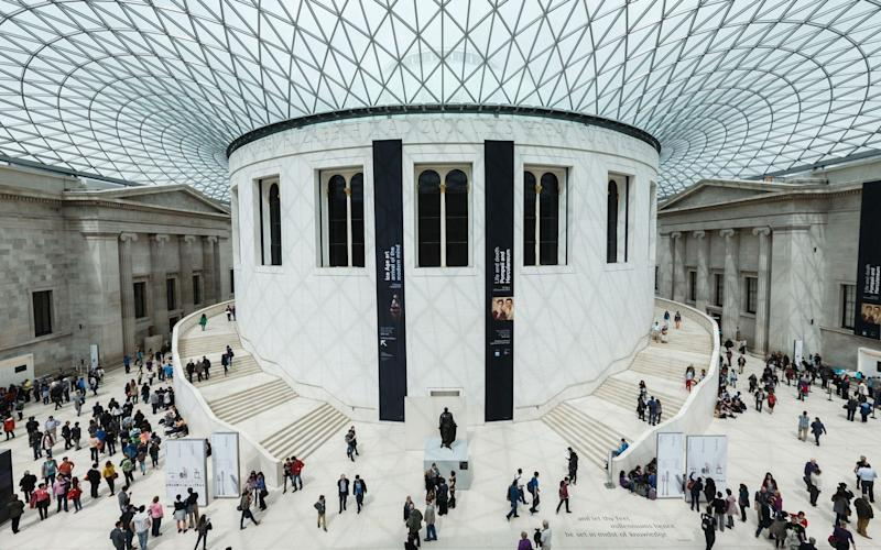 The British Museum saw a drop in numbers, but remains the number one UK attraction