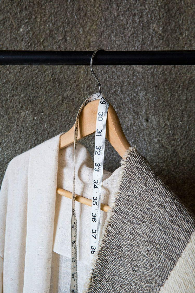 <p>Hangers and wall storage hacks like floating shelves are your best friends in a sewing room. This will clear up the floor so you can block things out without tripping over something every time you turn around. </p>