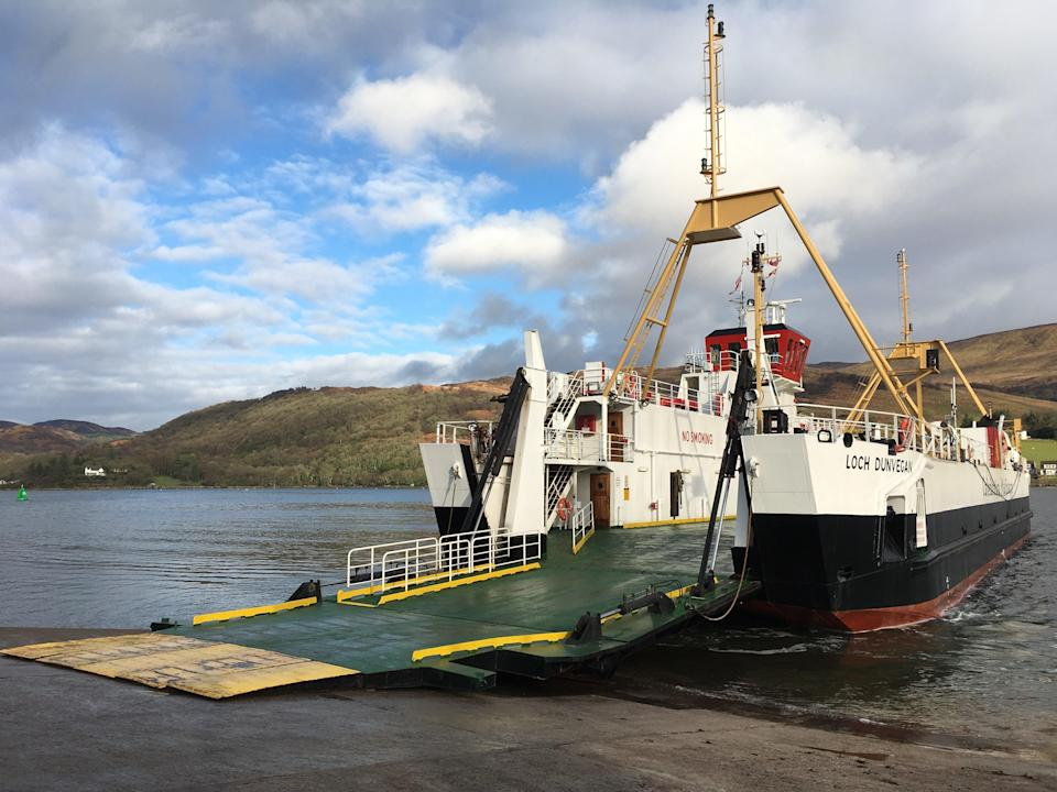 Test case: a ferry on the island of Bute (Simon Calder)