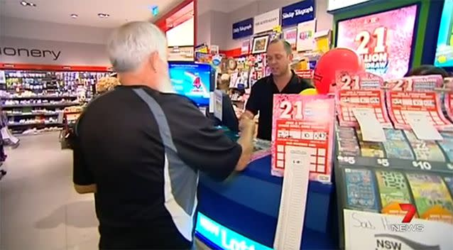 The winners have chosen to remain anonymous, but several have said that retirement is on the cards. Photo: 7 News