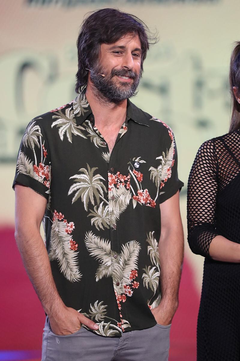 "Actor Hugo Silva on tv show "" Supervivientes "" in Madrid 02/05/2019"