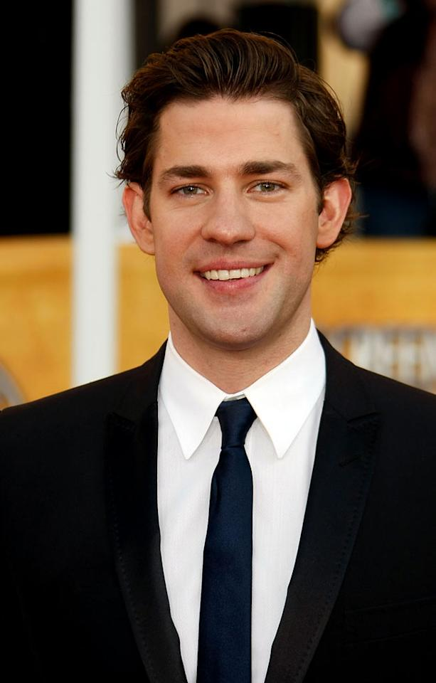 "<a href=""/john-krasinski/contributor/1151871"">John Krasinski</a> arrives at the <a href=""/15th-annual-screen-actors-guild-awards/show/44244"">15th Annual Screen Actors Guild Awards</a> held at the Shrine Auditorium on January 25, 2009 in Los Angeles, California."