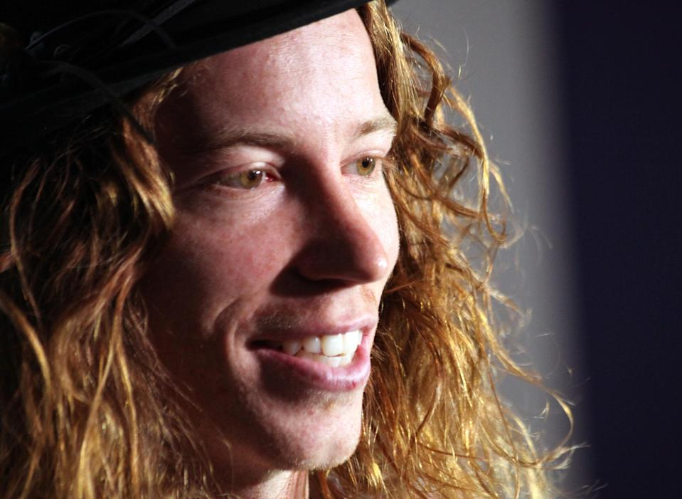<p>Olympic gold medalist Shaun White appears during an interview on Thursday, Sept. 8, 2011, in Salt Lake City. White may experience a mid-life crisis of sorts when he turns 25 on Saturday, yet the Olympic gold medalist and reigning X Games champ still dreams big. (AP Photo/Lynn DeBruin) </p>