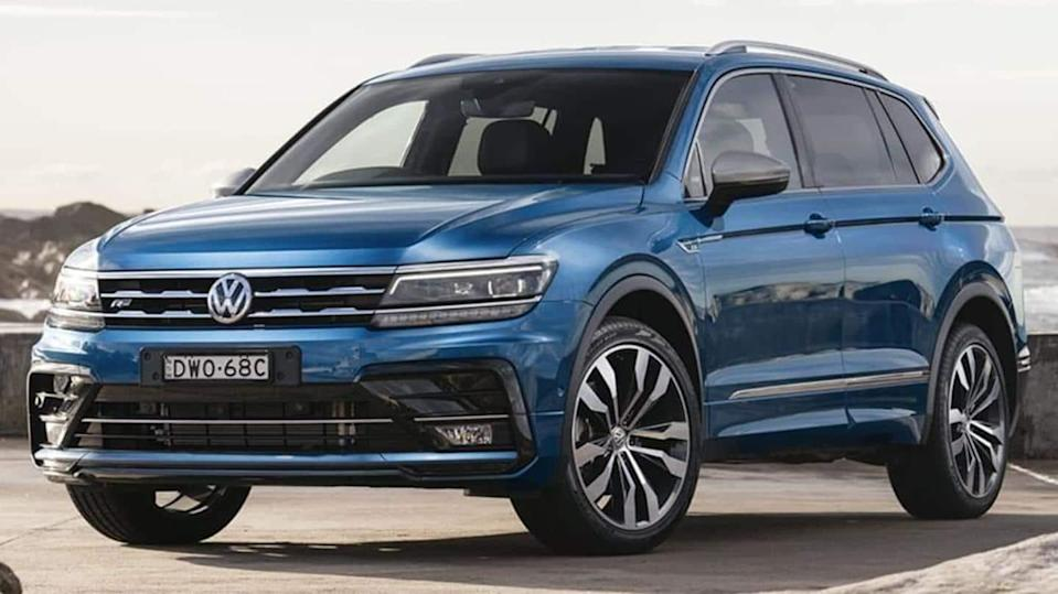 Volkswagen Tiguan Allspace, with refreshed look and new features, unveiled