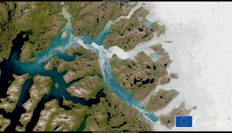 Greenland experienced 'massive' ice melt this week, scientists say