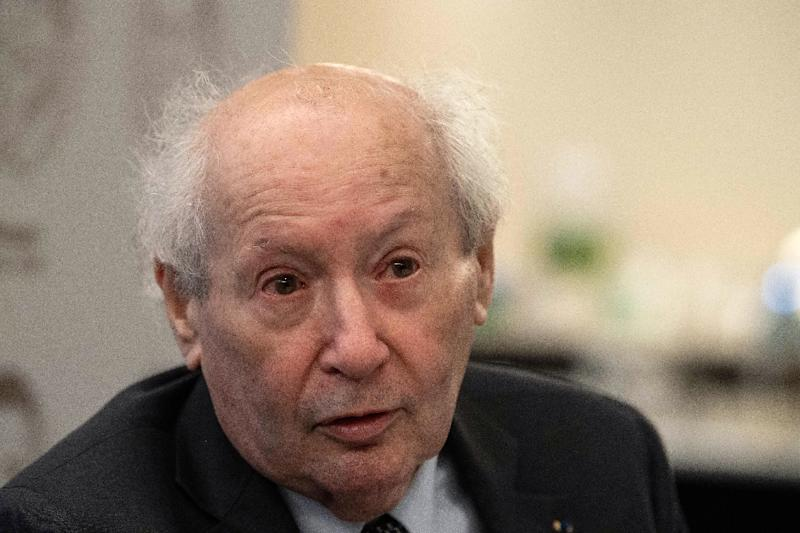 'There is no safe place on earth right now for Jews,' says Serge Klarsfeld, France's most famous Nazi hunter (AFP Photo/NICHOLAS KAMM)