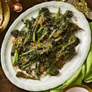 """<p>Get your greens in this Thanksgiving with these tender green beans, topped with crispy panko.</p><p><strong><em><a href=""""https://www.womansday.com/food-recipes/food-drinks/a29832569/crispy-roasted-broccolini-recipe/"""" rel=""""nofollow noopener"""" target=""""_blank"""" data-ylk=""""slk:Get the recipe for Crispy Roasted Broccolini."""" class=""""link rapid-noclick-resp"""">Get the recipe for Crispy Roasted Broccolini.</a></em></strong></p>"""